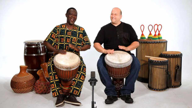 C. How to Play Basic Sounds on Djembe Promo Image