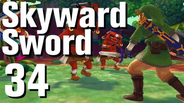 ZH. Zelda: Skyward Sword Walkthrough Part 34 - Thrill Digger Promo Image