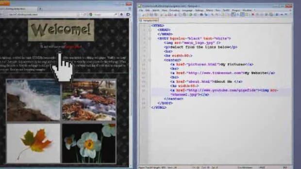 E. HTML Tutorial: Navigation Promo Image