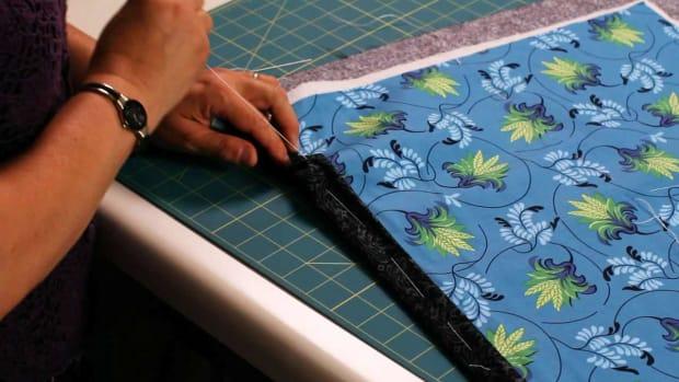 V. How to Thread Baste a Quilt Promo Image