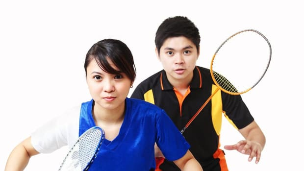 L. How to Play Doubles Badminton Promo Image
