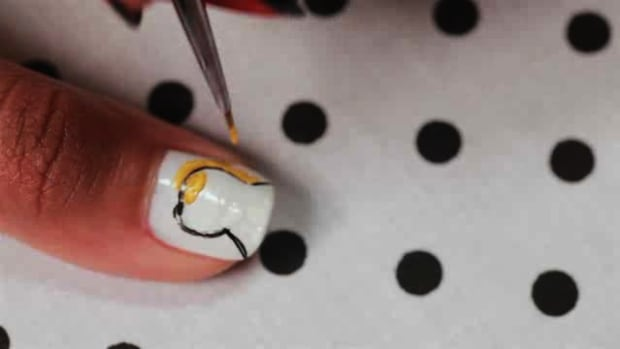 P. How to Create a Rage Comics Nail Art Design Promo Image