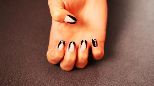 D. How to Do a Zipper Nail Design Promo Image