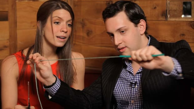 C. How to Do the String in the Straw Magic Trick Promo Image