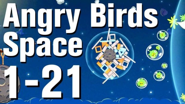U. Angry Birds: Space Walkthrough Level 1-21 Promo Image