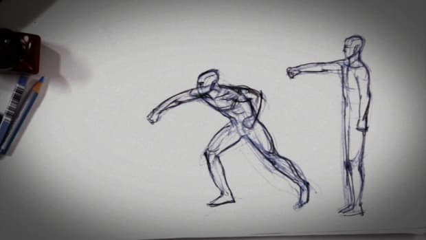 G. How to Show Movement in a Drawing Promo Image