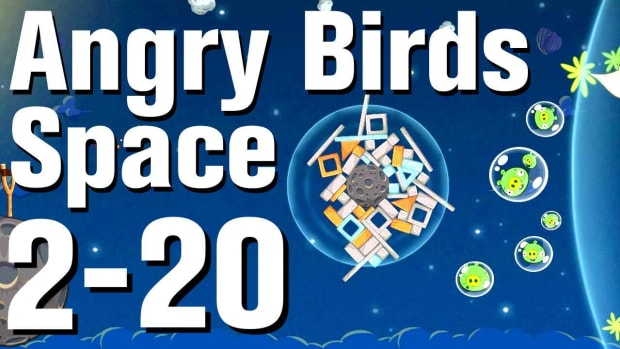 ZX. Angry Birds: Space Walkthrough Level 2-20 Promo Image