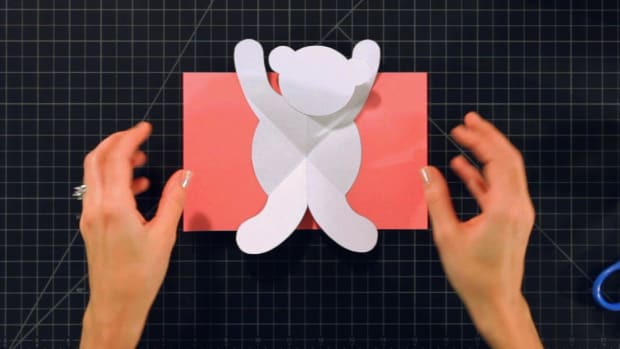 T. How to Make a Teddy Bear Pop-Up Card Promo Image