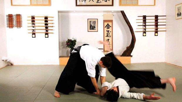 K. How to Do Shihonage in Aikido Promo Image