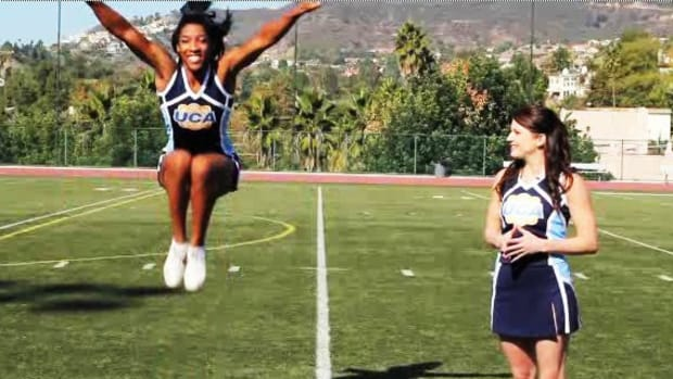 X. What Are the Basics of Cheerleading Jumps? Promo Image