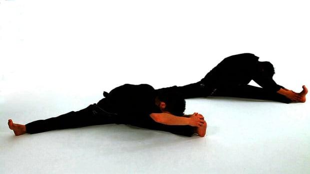 E. How to Do Basic Taekwondo Sitting Stretches Promo Image