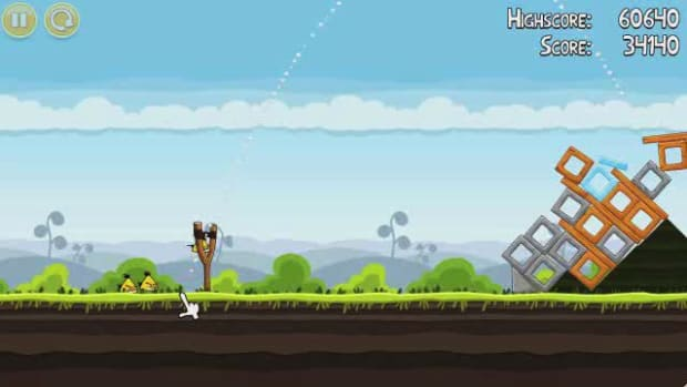 P. Angry Birds Level 4-16 Walkthrough Promo Image