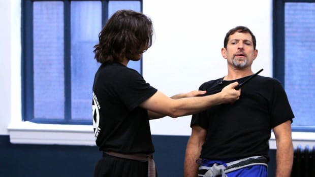 ZM. How to Defend against a Knife to Your Throat in Krav Maga Promo Image