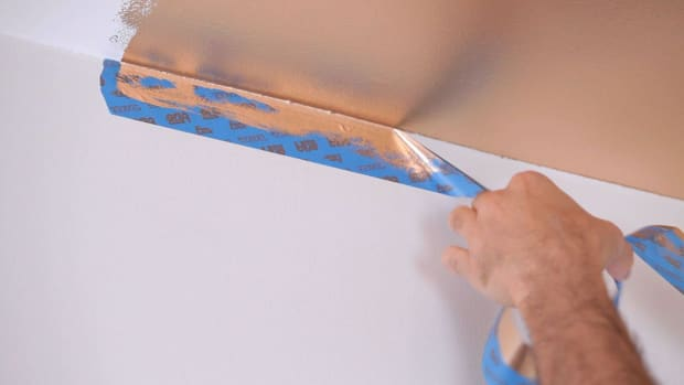 A. How to Paint an Accent Wall Promo Image
