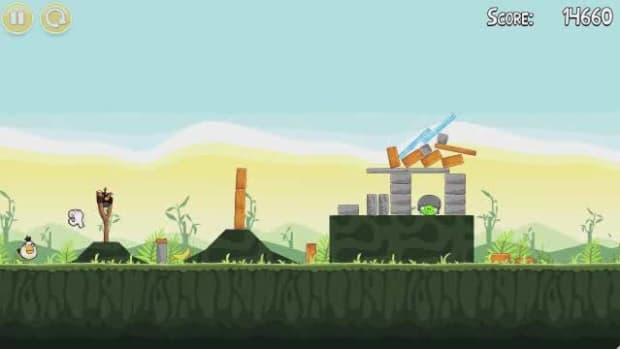S. Angry Birds Level 2-19 Walkthrough Promo Image