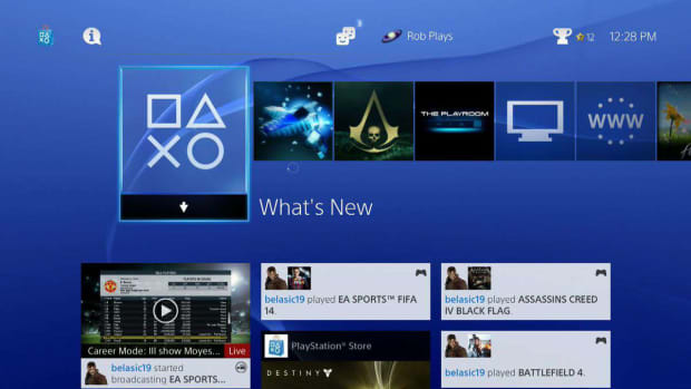 "ZE. What Is the PlayStation 4 ""What's New"" Feature? Promo Image"