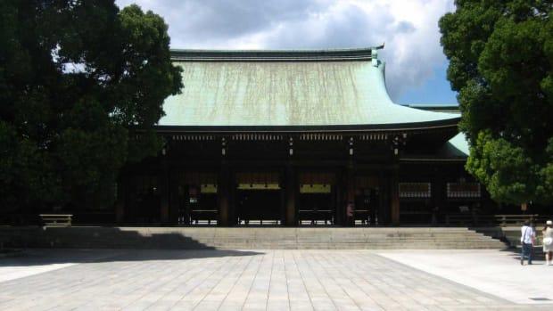 H. Visiting the Meiji Jingu Shrine in Tokyo Promo Image