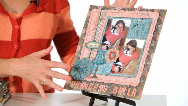 W. How to Add Texture to Your Scrapbook Pages Promo Image