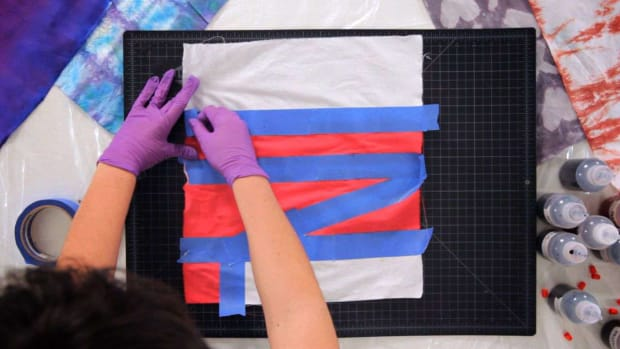 V. How to Create Tie Dye Patterns Using Tape Promo Image
