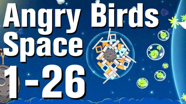 Z. Angry Birds: Space Walkthrough Level 1-26 Promo Image