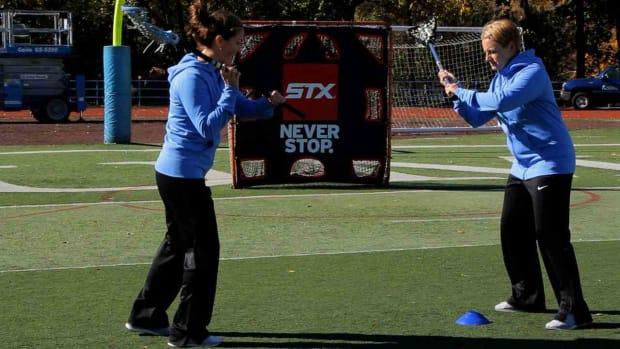V. How to Stutter Step in Women's Lacrosse Promo Image