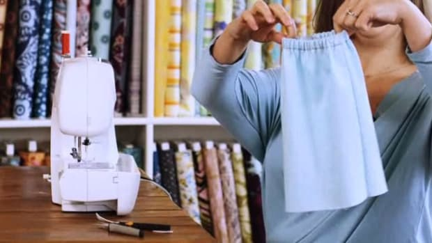 K. How to Sew an Elastic Waistband Promo Image