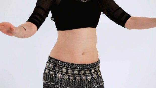 D. How to Isolate Upper Abs in Belly Dancing Promo Image