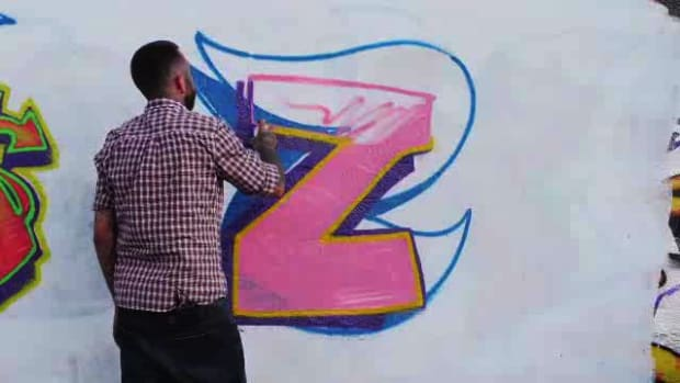 ZJ. How to Draw a Z in Graffiti Promo Image