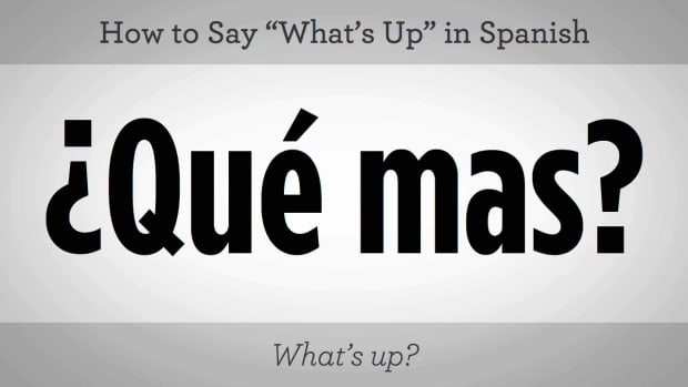 "C. How to Say ""What's Up?"" in Spanish Promo Image"