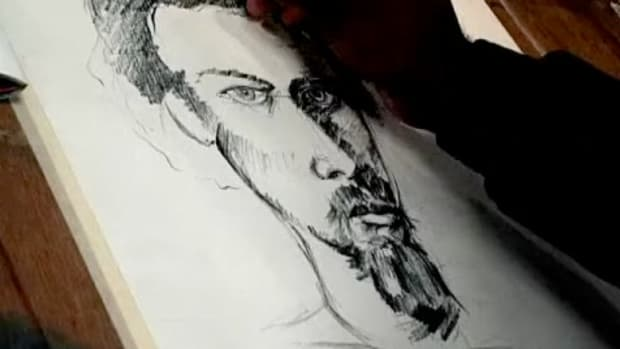 M. How to Draw a Portrait Promo Image