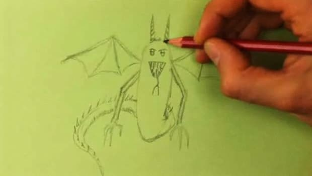K. How to Draw a Monster Promo Image