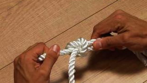C. How to Tie a Fisherman's Knot Promo Image