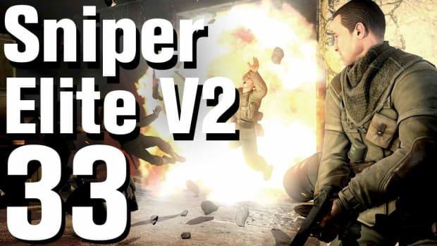 ZG. Sniper Elite V2 Walkthrough Part 33 - Karlshorst Command Post Promo Image