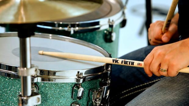 ZZK. How to Play a Rim Shot on the Drums Promo Image