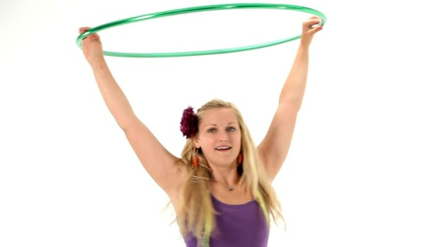 M. How to Do Sustained Hula Hoop Spinning Promo Image