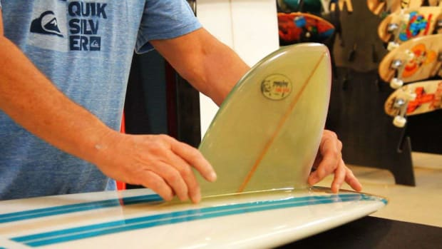 S. What Are Glass-On Fins on a Surfboard? Promo Image