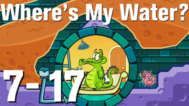 ZZZZZG. Where's My Water Walkthrough Level 7-17 Promo Image