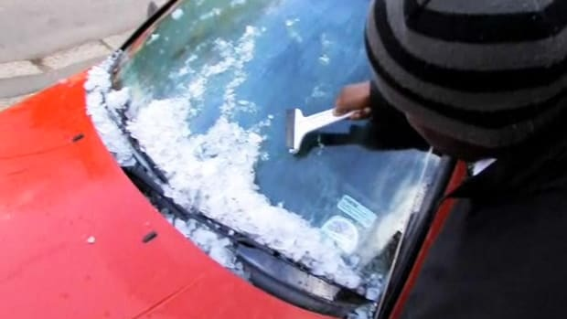 G. How to De-Ice Your Car's Windshield Promo Image