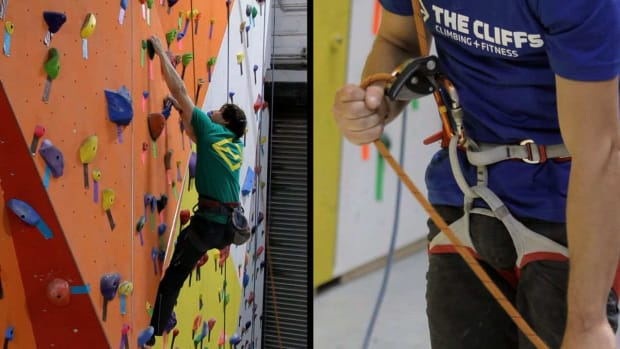 H. How to Use Proper Top-Rope Belay Method for Indoor Climbing Promo Image