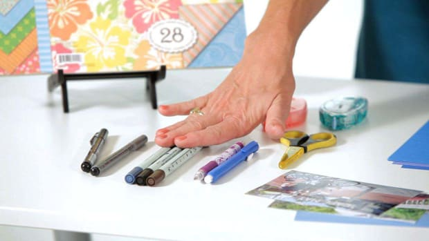 D. Tools You Need for Scrapbooking Promo Image