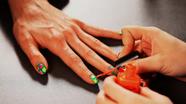 E. How to Do a Warhol Flowers Nail Design, Pt. 1 Promo Image