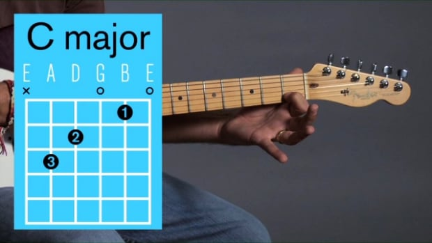 ZB. How to Play a C Major Open Chord on Guitar Promo Image