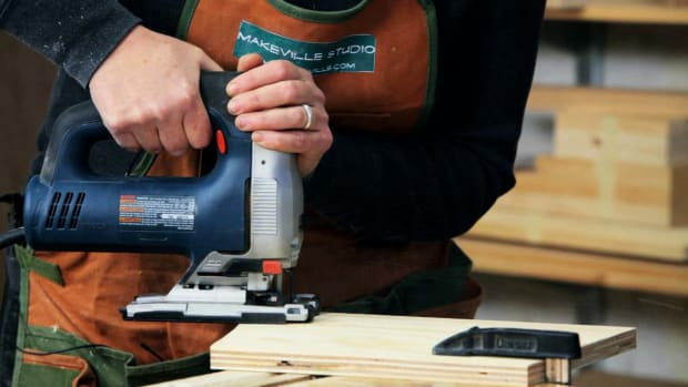 K. How to Use a Jigsaw for Woodworking Promo Image