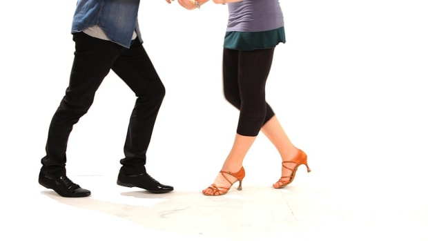 I. How to Dance a Cha-Cha Chase Step Promo Image