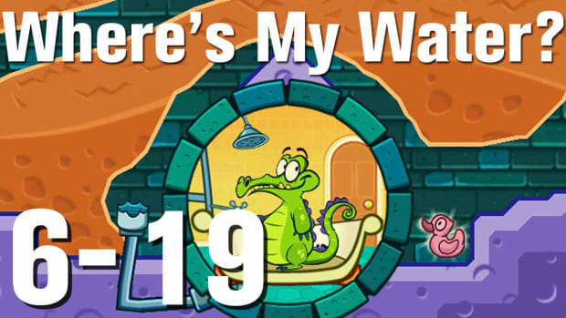 ZZZZO. Where's My Water Walkthrough Level 6-19 Promo Image