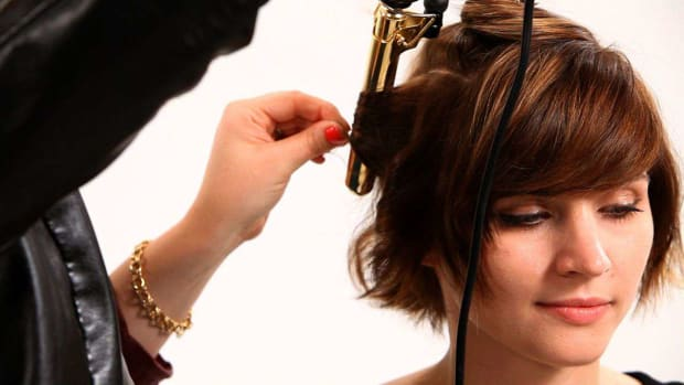 R. How to Use a Curling Iron on Short Hair, Part 2 Promo Image