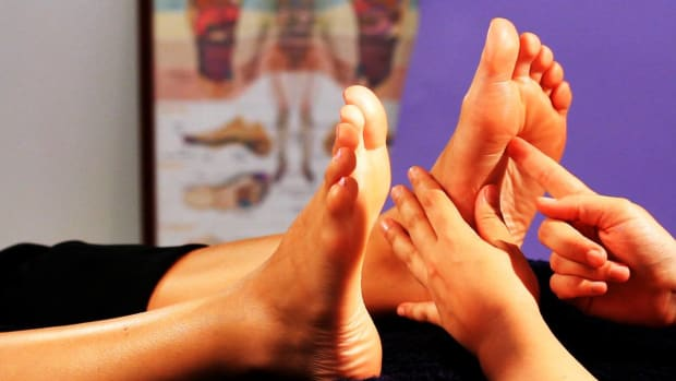 ZP. How to Relieve Stress with Reflexology Promo Image