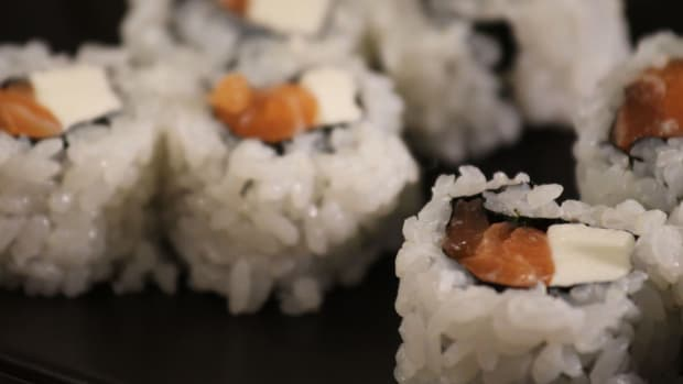 Q. How to Make Sushi Rolls with Cream Cheese Promo Image