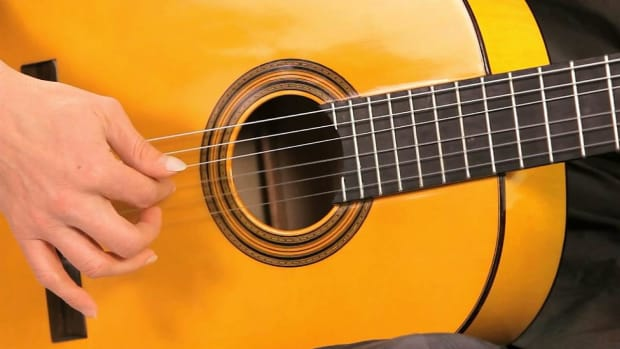 S. Flamenco Guitar Techniques: How to Play 16th Note Arpeggios Promo Image