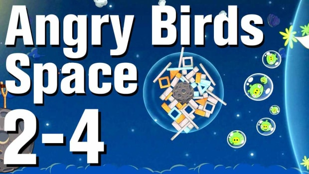 ZH. Angry Birds: Space Walkthrough Level 2-4 Promo Image